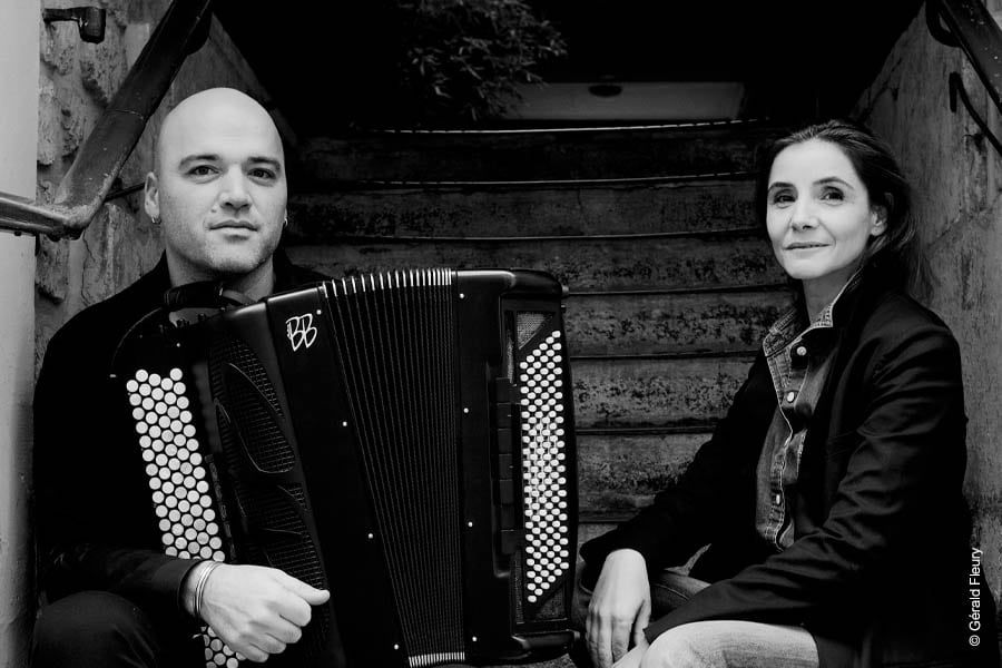 Clotilde Courau et Lionel Suarez